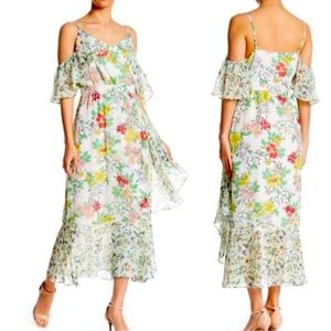 NANNETTE LEPORE MARSHMALLOW PRINT DRESS SIZE 2